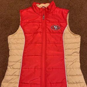 49ers vest